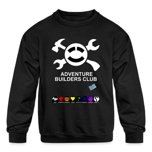 Adventure Builders Club - Kids' Crewneck Sweatshirt