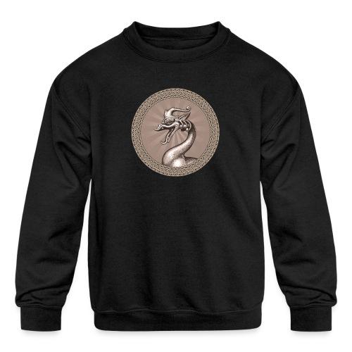 Laughing Dragon - Kids' Crewneck Sweatshirt