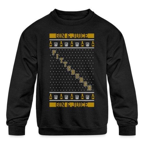 gin n juice - Kids' Crewneck Sweatshirt