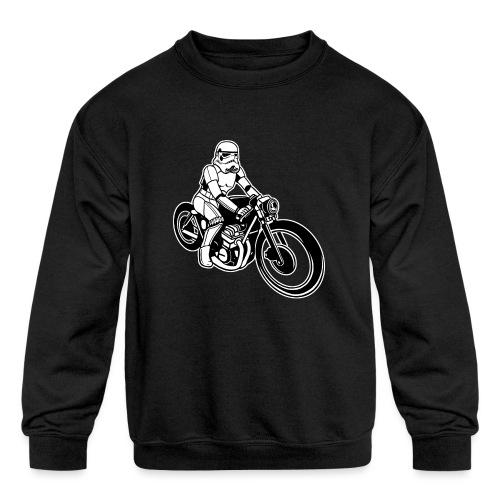 Stormtrooper Motorcycle - Kids' Crewneck Sweatshirt