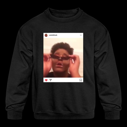 caleb6lack - Kids' Crewneck Sweatshirt
