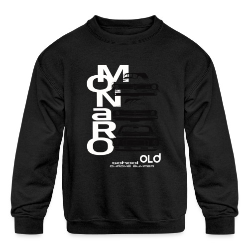 monaro over - Kids' Crewneck Sweatshirt