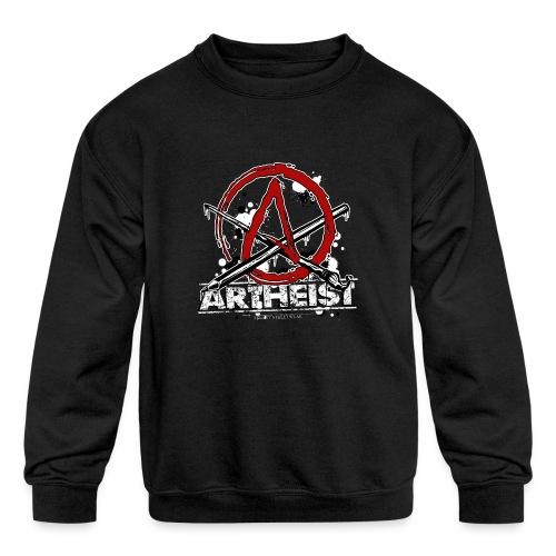 Artheist - Kids' Crewneck Sweatshirt