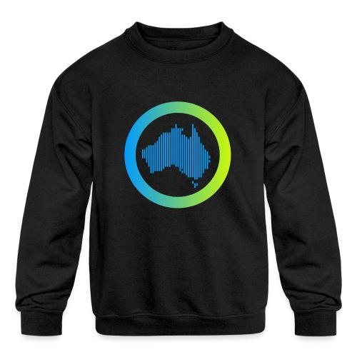 Gradient Symbol Only - Kids' Crewneck Sweatshirt