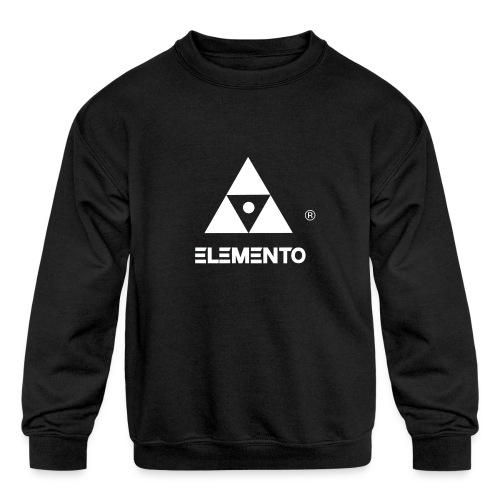 Official logo of ELEMENTO® Arts - Kids' Crewneck Sweatshirt