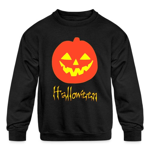 Halloween - Kids' Crewneck Sweatshirt