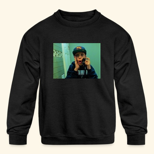 Pj Vlogz Merch - Kids' Crewneck Sweatshirt