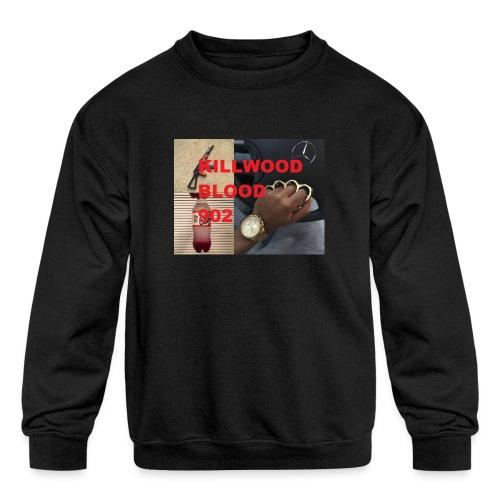 Killwood Blood 902 - Kids' Crewneck Sweatshirt
