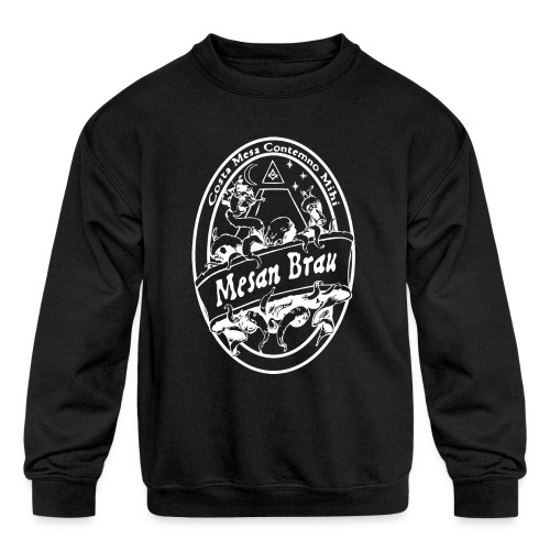 mesanbraucthsingle - Kids' Crewneck Sweatshirt
