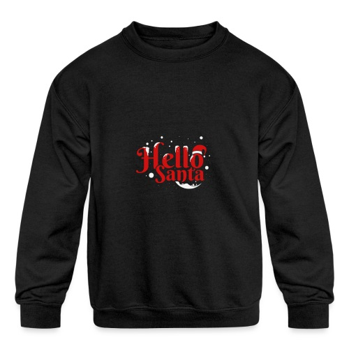 d14 - Kids' Crewneck Sweatshirt
