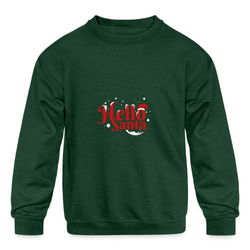 d14 - Kids' Crewneck Sweatshirt