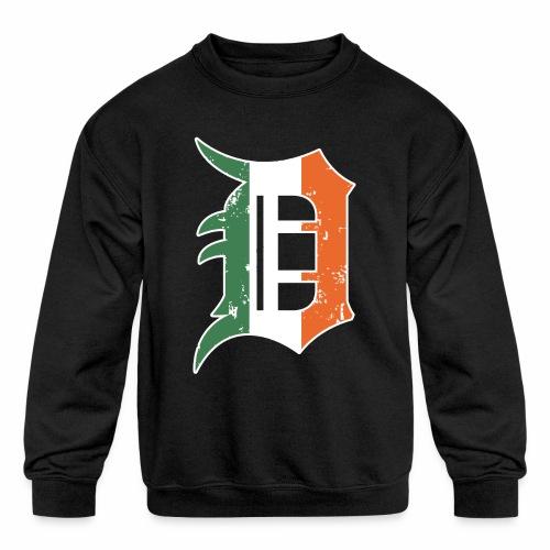IRISH D - Kids' Crewneck Sweatshirt