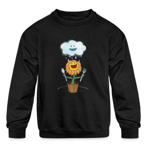 Cloud & Flower - Best friends forever - Kids' Crewneck Sweatshirt