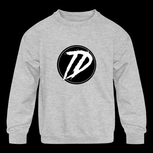 Team DEBUG Logo - Kids' Crewneck Sweatshirt