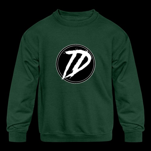 Team DEBUG Logo - Kids' Crewneck Sweatshirt
