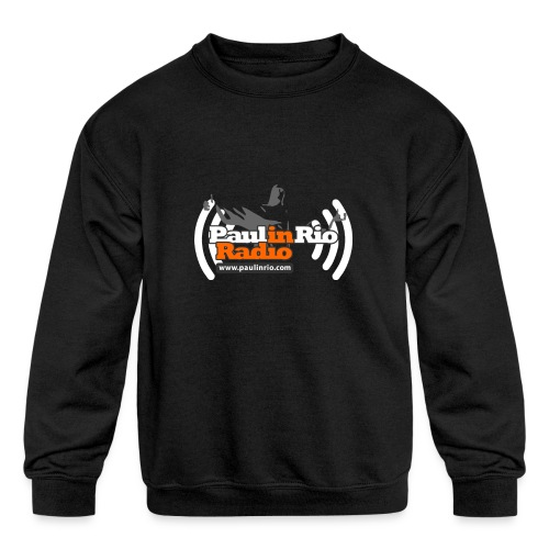 Paul in Rio Radio - Thumbs-up Corcovado #1 - Kid's Crewneck Sweatshirt