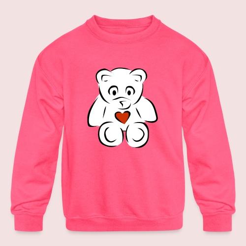 Sweethear - Kids' Crewneck Sweatshirt