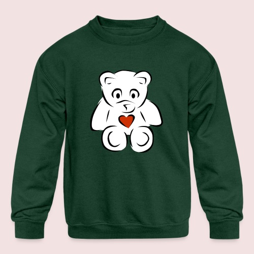 Sweethear - Kids' Crewneck Sweatshirt