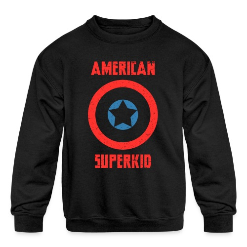 American Superkid - Kids' Crewneck Sweatshirt
