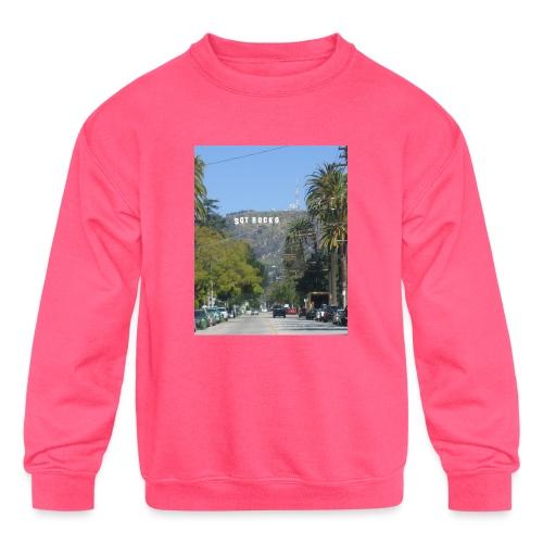 RockoWood Sign - Kids' Crewneck Sweatshirt