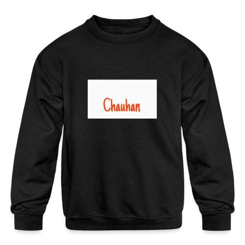 Chauhan - Kids' Crewneck Sweatshirt
