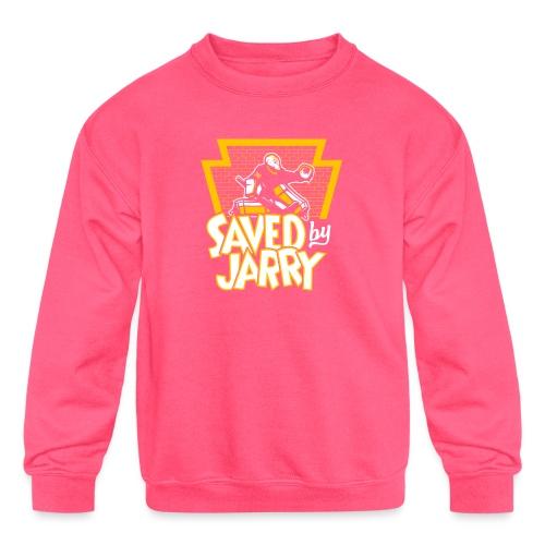 Saved by Jarry - Kids' Crewneck Sweatshirt