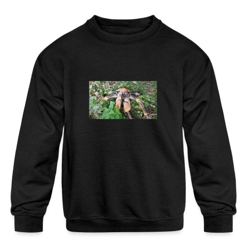 Robber Crab - Kids' Crewneck Sweatshirt