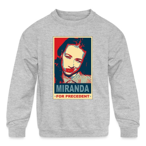 Miranda Sings Miranda For Precedent - Kids' Crewneck Sweatshirt