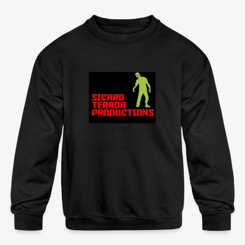 Sicard Terror Productions Merchandise - Kids' Crewneck Sweatshirt