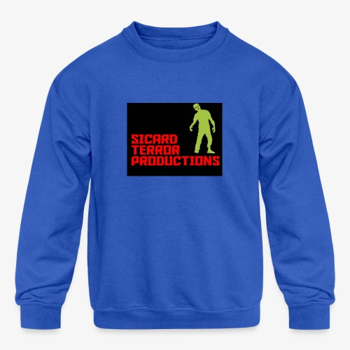 Sicard Terror Productions Merchandise - Kids' Crewneck Sweatshirt