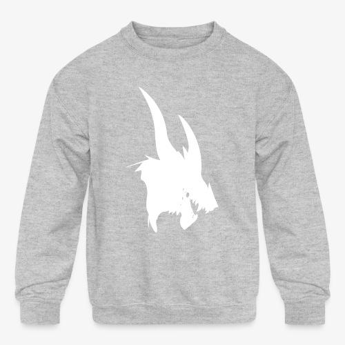 dragon sil - Kids' Crewneck Sweatshirt