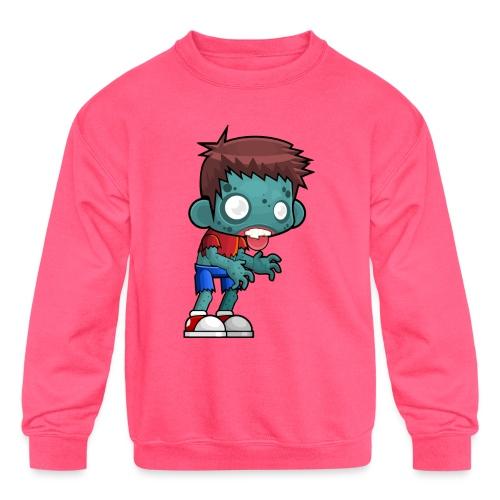 male zombie - Kids' Crewneck Sweatshirt