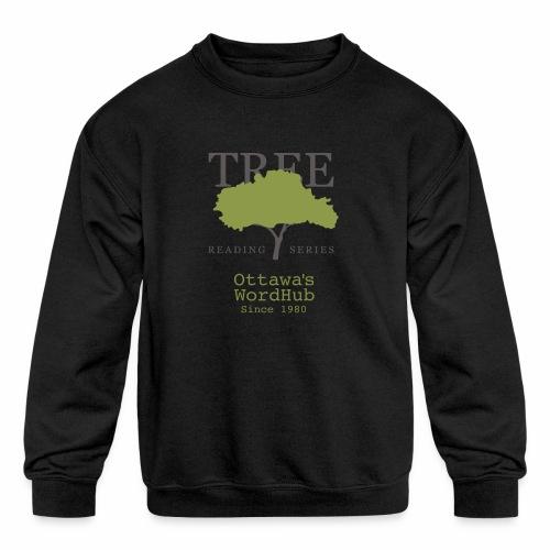 Tree Reading Swag - Kids' Crewneck Sweatshirt