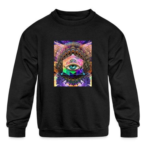 ruth bear - Kids' Crewneck Sweatshirt