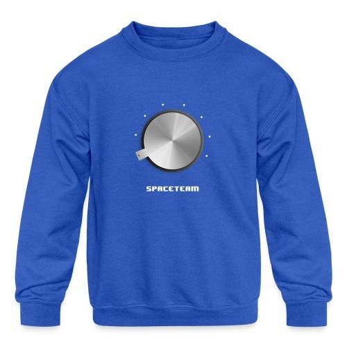 Spaceteam Dial - Kids' Crewneck Sweatshirt