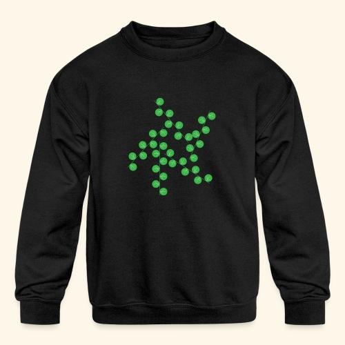 leafs life - Kids' Crewneck Sweatshirt