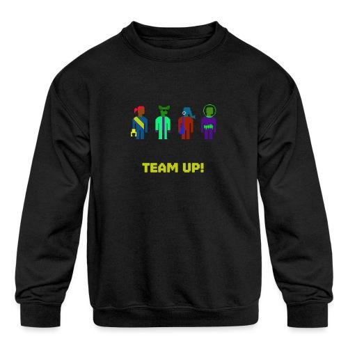 Spaceteam Team Up! - Kids' Crewneck Sweatshirt