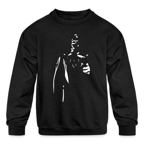 Rubber Man Wants You! - Kids' Crewneck Sweatshirt