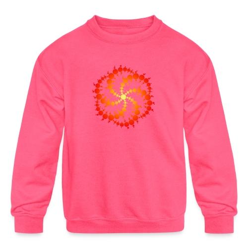 Crop circle - Kids' Crewneck Sweatshirt