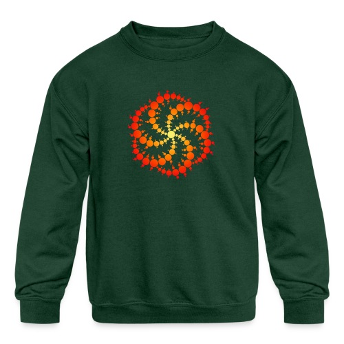 Crop circle - Kids' Crewneck Sweatshirt