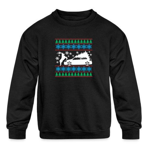 MK6 GTI Ugly Christmas Sweater - Kids' Crewneck Sweatshirt
