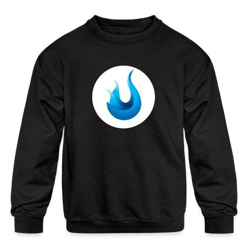 flame front png - Kids' Crewneck Sweatshirt