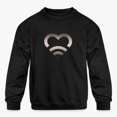 I Heart Wifi IPhone Case - Kids' Crewneck Sweatshirt