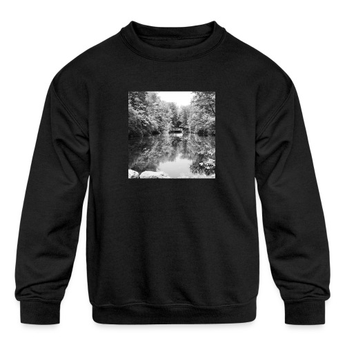 Lone - Kids' Crewneck Sweatshirt