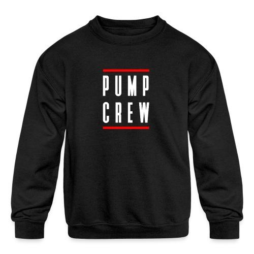 Pump Crew - Kids' Crewneck Sweatshirt