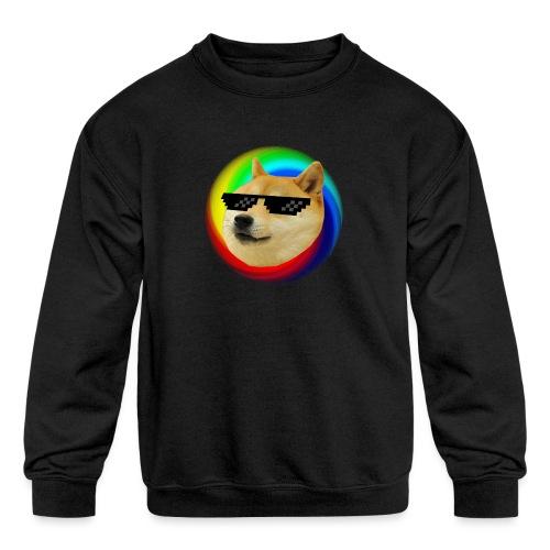 Doge - Kids' Crewneck Sweatshirt