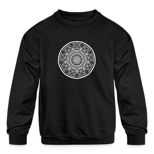 Circle No.1 - Kids' Crewneck Sweatshirt