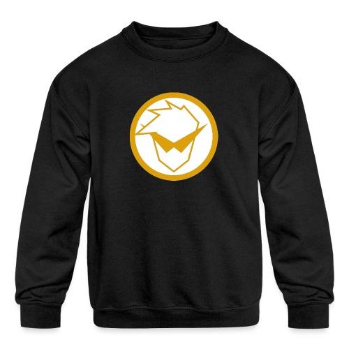 FG Phone Cases (Pure Clean Gold) - Kids' Crewneck Sweatshirt