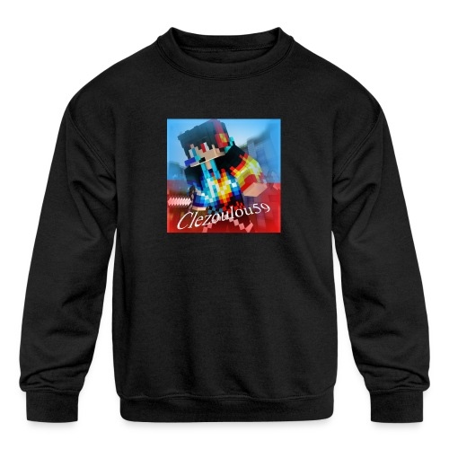 Logo Clezoulou59 2016-2017 - Kids' Crewneck Sweatshirt