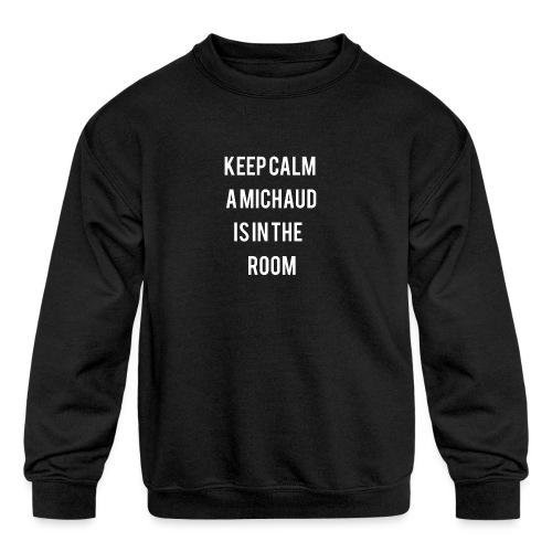 Michaud - Kids' Crewneck Sweatshirt